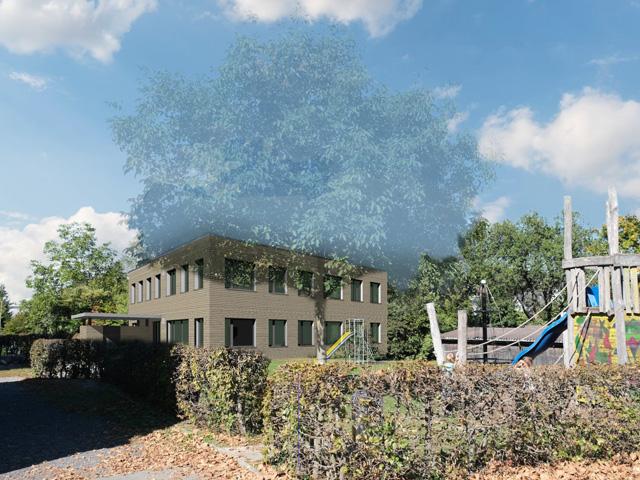 Pavillon Zick-Zack Obfelden
