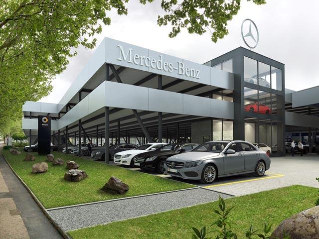 Autolager Hagenholz in Zürich-Oerlikon