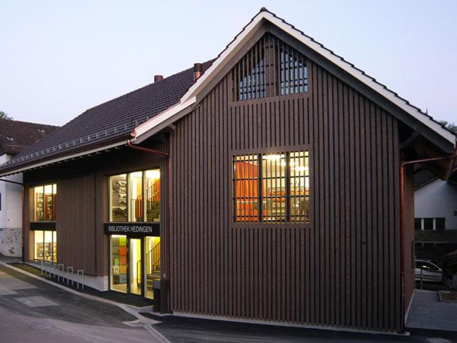 Trotte Bibliothek Hedingen